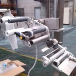 Proceso de montaje de maquina etiquetadora
