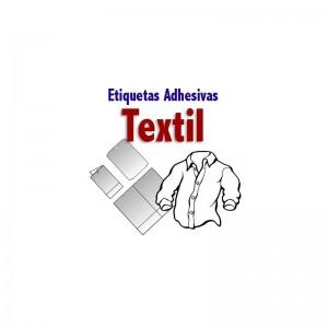etiquetas adhesivas para textil